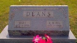 Mary <I>Wardlaw</I> Deans