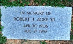 Robert Taylor Agee, Sr