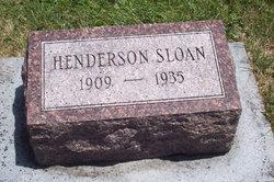 Henderson Sloan