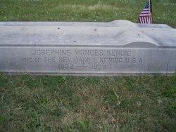 "Mrs Josephine ""Aunt Josie"" <I>Monges</I> Kendig"
