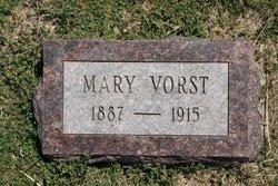 Mary <I>Moerman</I> Vorst