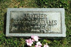 Willie Maxine <I>Collins</I> Adams