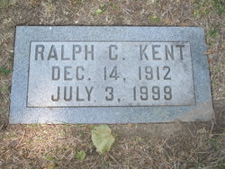 Ralph C Kent