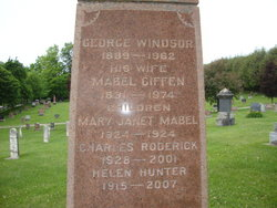 George Windsor Standing