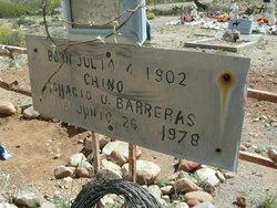 """Ignacio U """"Chino"""" Barreras"""