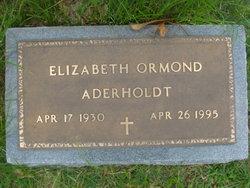 Elizabeth Ormond Aderholdt