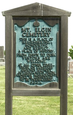 Mount Elgin Cemetery