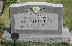 "Cheryl Jean ""Sherry"" <I>Cress</I> Burmeister"
