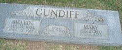 Mary Angeline <I>Daugherty</I> Cundiff