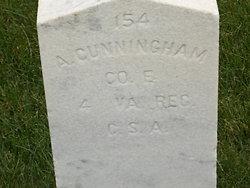 Pvt Adam Cunningham