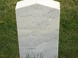 Pvt Thomas J Dunn