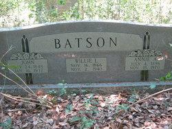 Annie Alice Batson