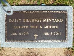 Daisy <I>Billings</I> Minyard