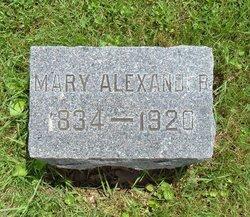 Mary <I>Osborn</I> Alexander