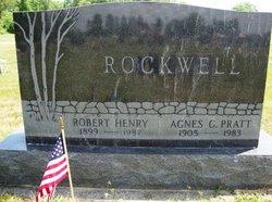 Agnes Geneva <I>Pratt</I> Rockwell