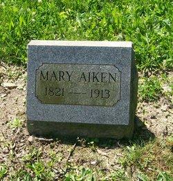 Mary <I>Utley</I> Aiken