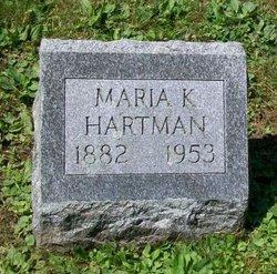 Maria Kartherine <I>Zitzer</I> Hartmann