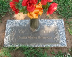 Harley Wayne Baysinger