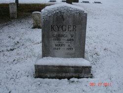 Mary Ann <I>Organ</I> Kyger
