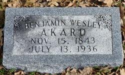 Benjamin Wesley Akard