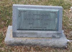 Mae <I>Baldwin</I> Angle