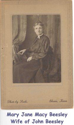 Mary Jane <I>Macy</I> Beesley