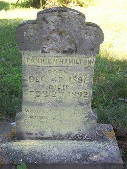 Fannie M Hamilton