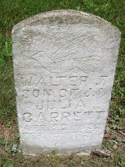 Walter F Garrett
