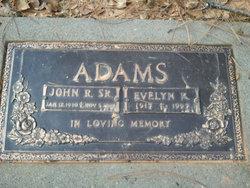 Evelyn R. <I>Durlin</I> Adams
