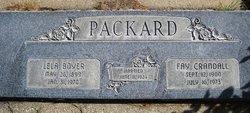 Lela Rakestraw <I>Boyer</I> Packard