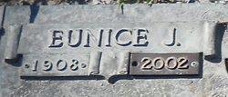 Eunice J Bonds
