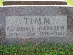Katherine E Timm