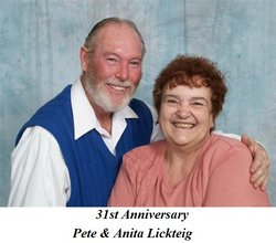 Anita & Pete Lickteig