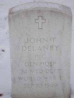 John T Delaney