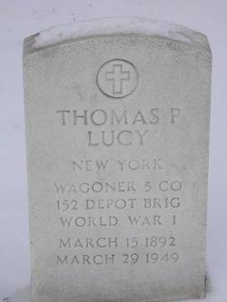 Thomas P Lucy