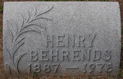"""Henry """"Heinie"""" Behrends"""