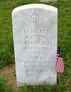Pvt Robert Joseph Bernhardt