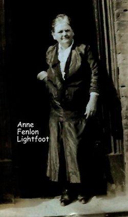 Anne <I>Fenlon</I> Lightfoot