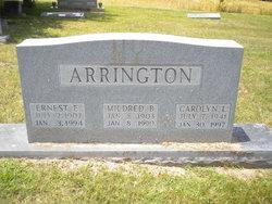 Mildred <I>Brown</I> Arrington