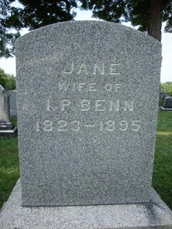 Jane <I>Bishop</I> Benn