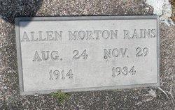 Allen Morton Rains