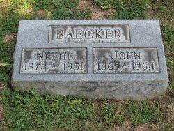 Nettie <I>Campbell</I> Baecker