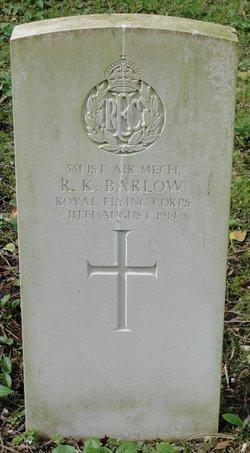 Raymond Keith Barlow
