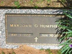 Marjorie O <I>Rexwinkle</I> Humphrey