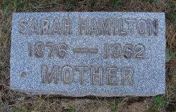 Sarah A. <I>Hamilton</I> Abrams