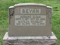 Matilda <I>Crumley</I> Bevan