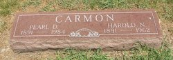 Pearl D <I>Horrie</I> Carmon