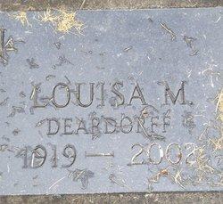 Louisa M <I>Deardorff</I> Anderson