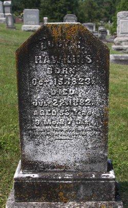 Lucy C. <I>Arnold</I> Hawkins