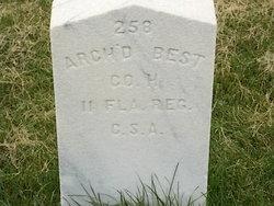 Sgt Archibald Best